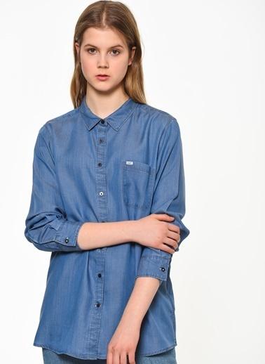 Lee Gömlek Mavi
